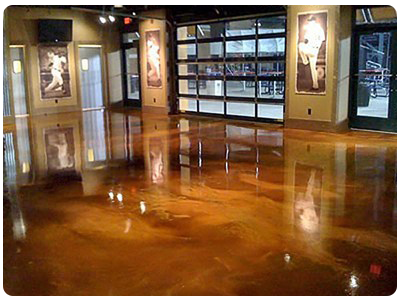 Crete Rite Llc Chicago Epoxy Flooring Stained Concrete