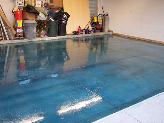 Custom Stained Concrete Floors : Concrete gallery crete rite llc services
